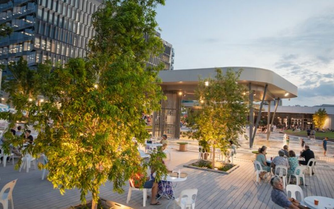 Committee hears good news on leasing and a preview of planned activities in Tulmur Place